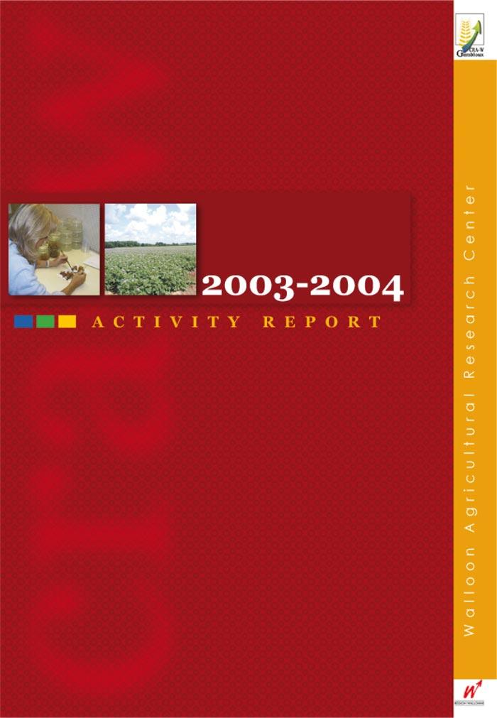 Activity report 2003-2004