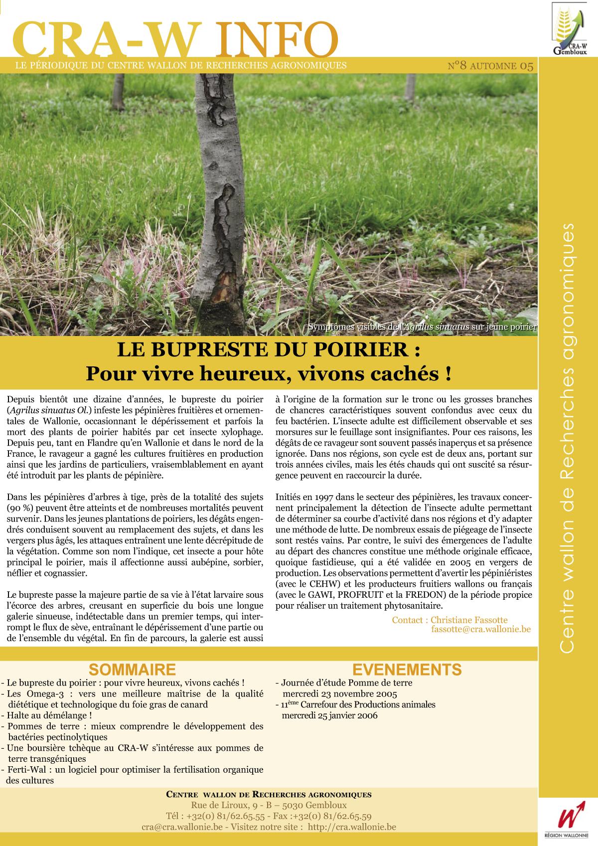 CRAW info n° 8