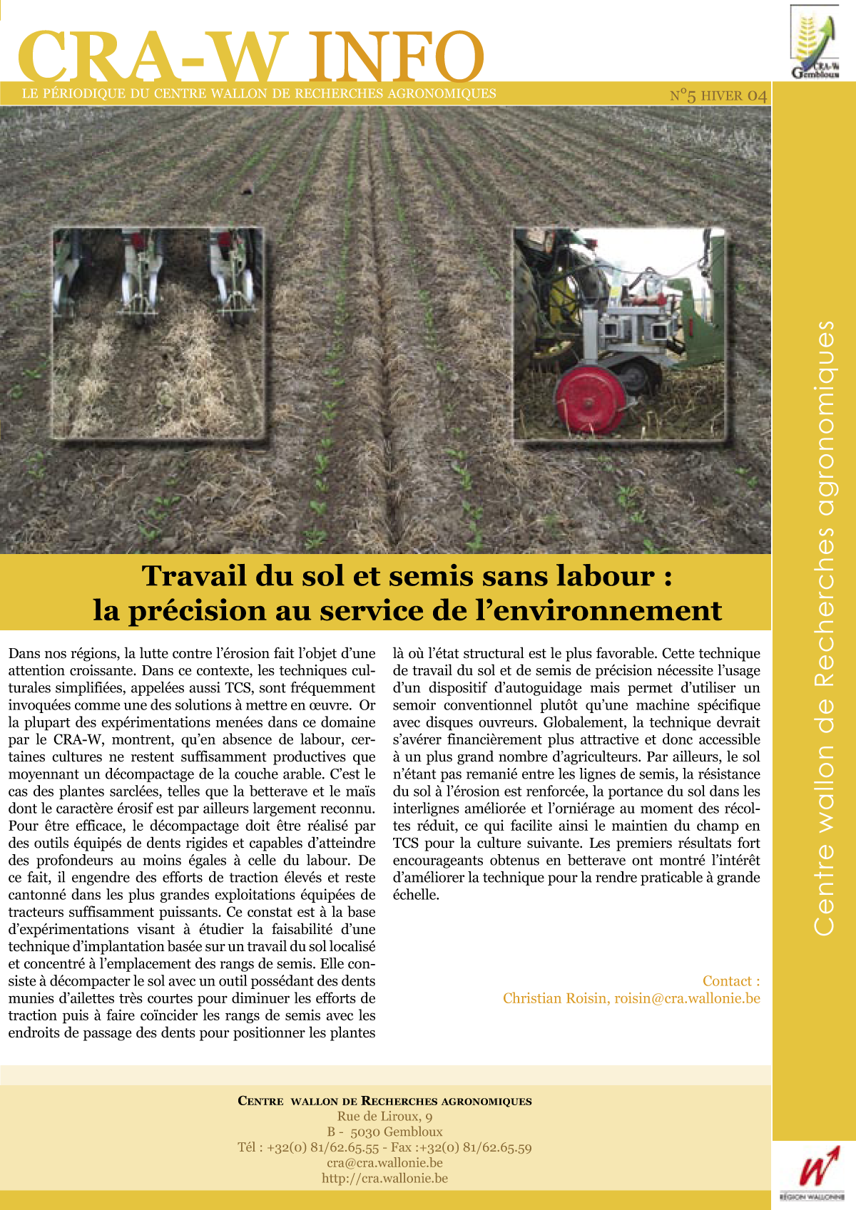 CRAW info n° 5