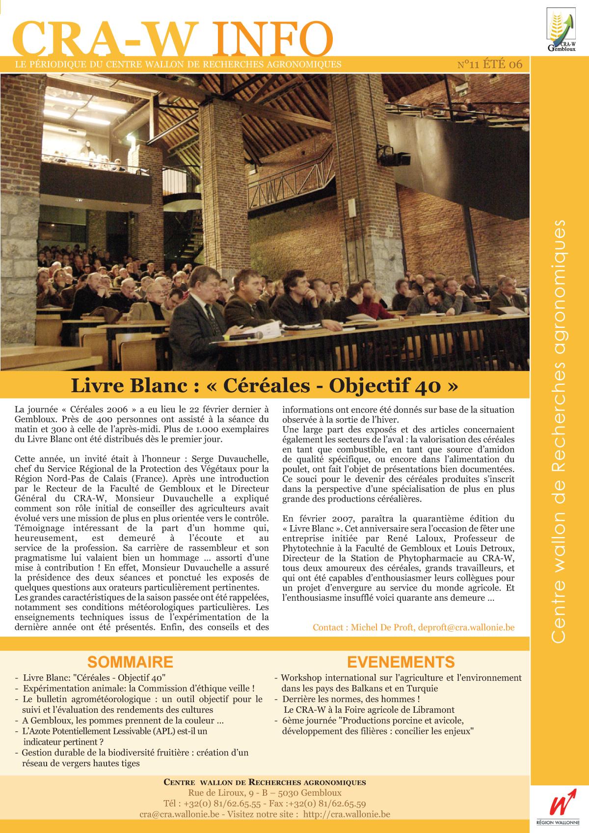 CRAW info n° 11