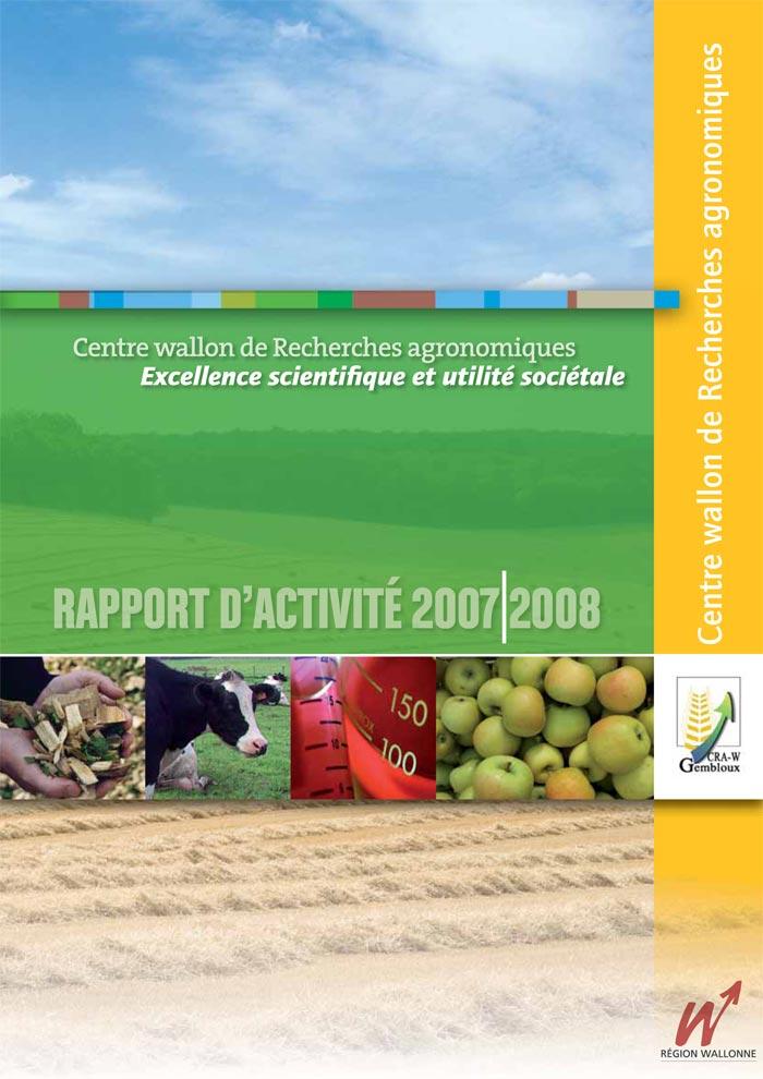 Rapport d'activités 2007-2008