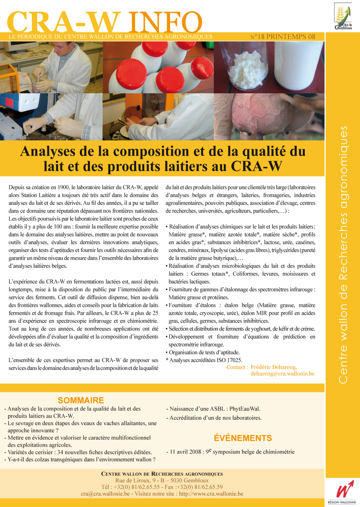 CRAW info n° 18