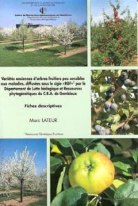 Choix des variétés « RGF » (Ressources Génétiques Fruitières)