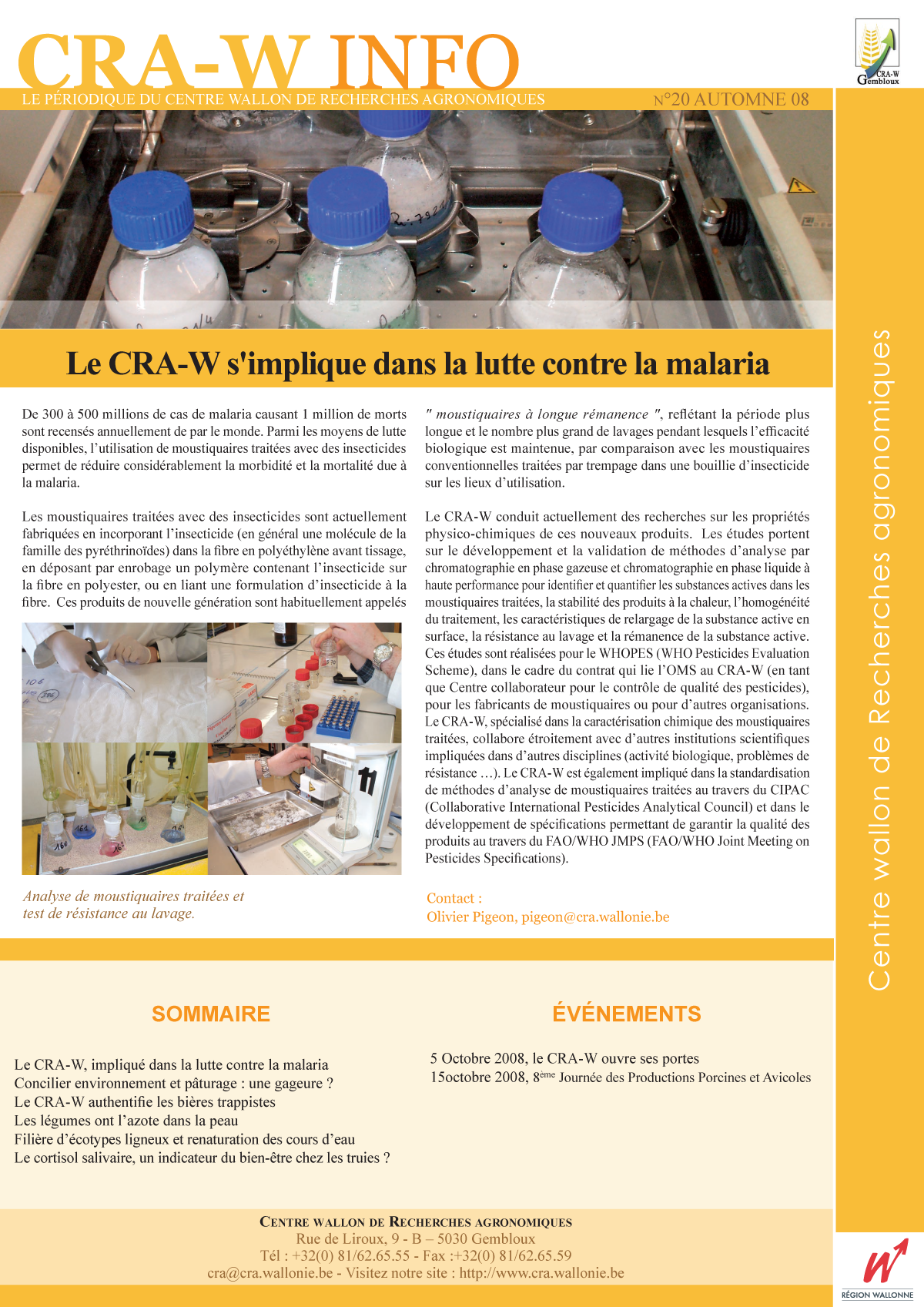CRAW info n° 20