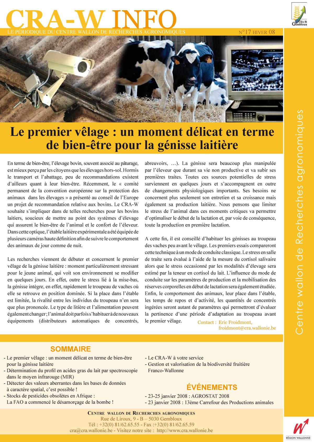CRAW info n° 17