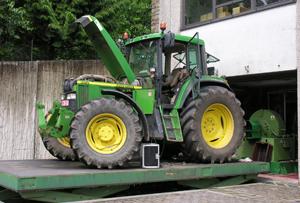 Synthèse des tests de tracteur au banc d'essai