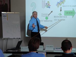 Vers une cinquième année de formation en spectroscopie et chimiométrie au CRA-W