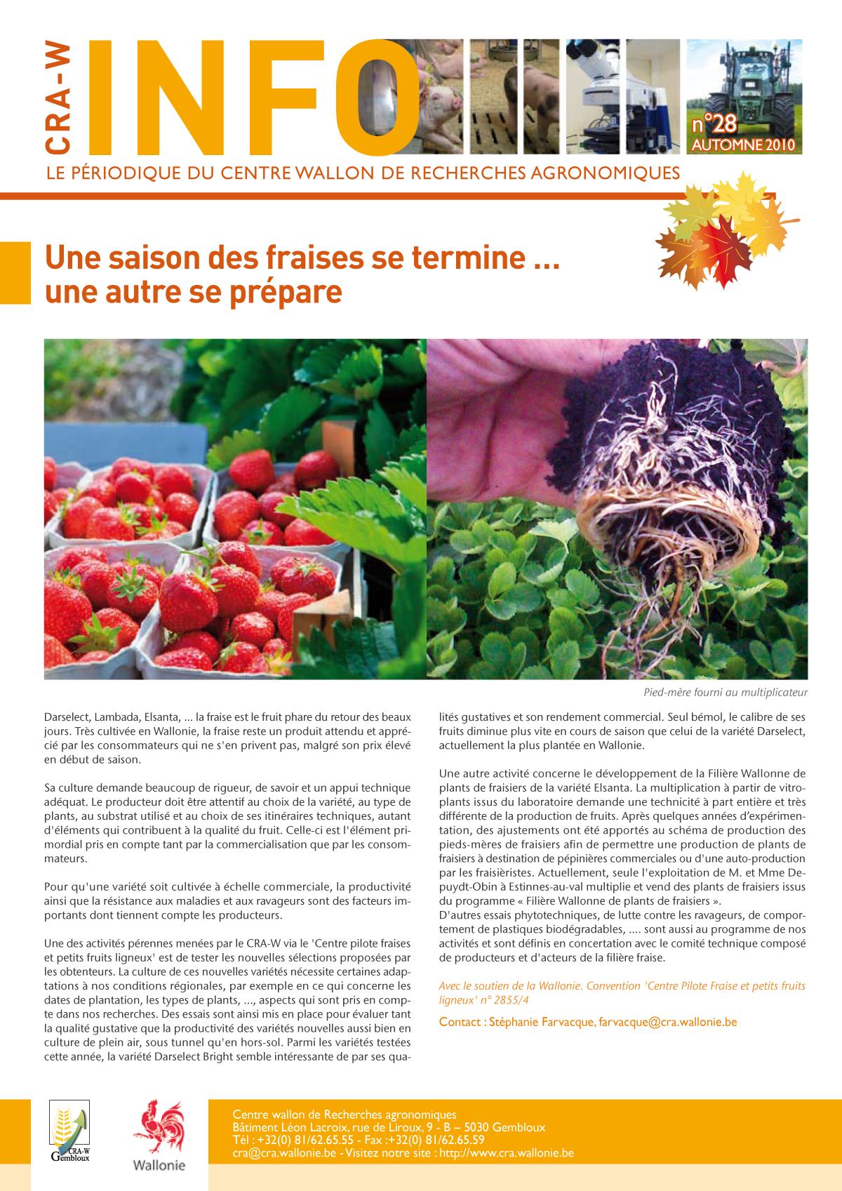 CRAW info n° 28