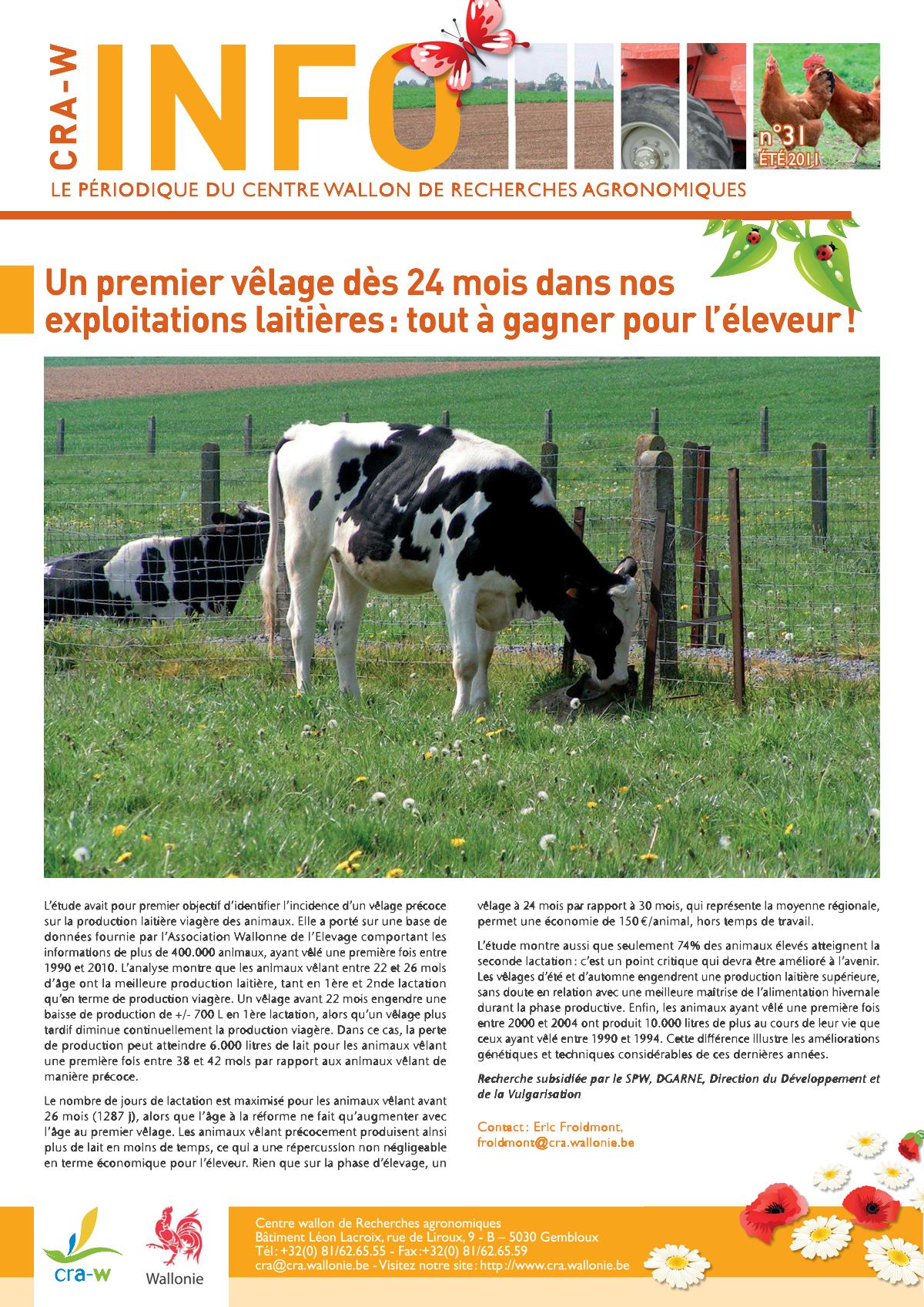 CRAW info n° 31