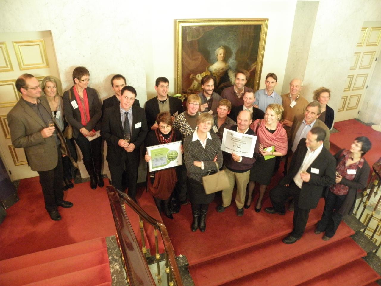 Prix Phytofar 2011 : les agriculteurs de DurAgr'ISO mis à l'honneur