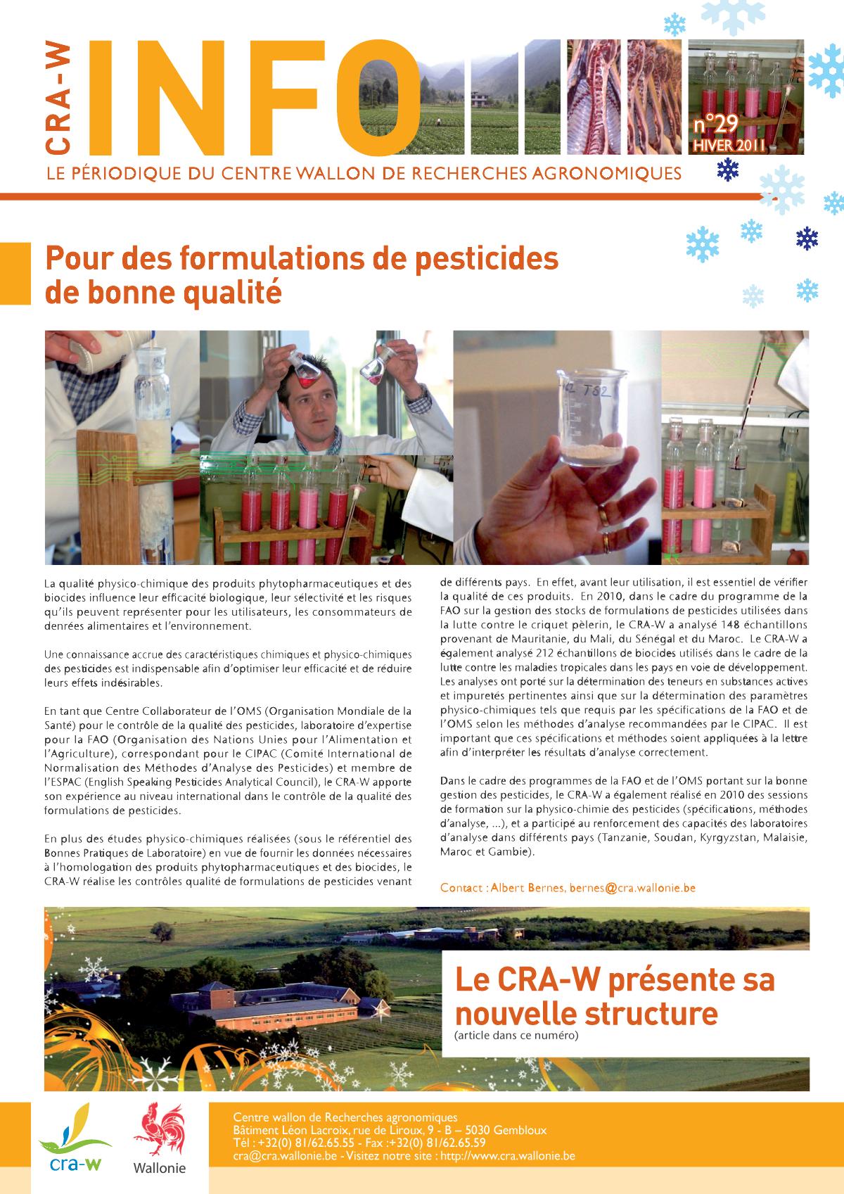 CRAW info n° 29