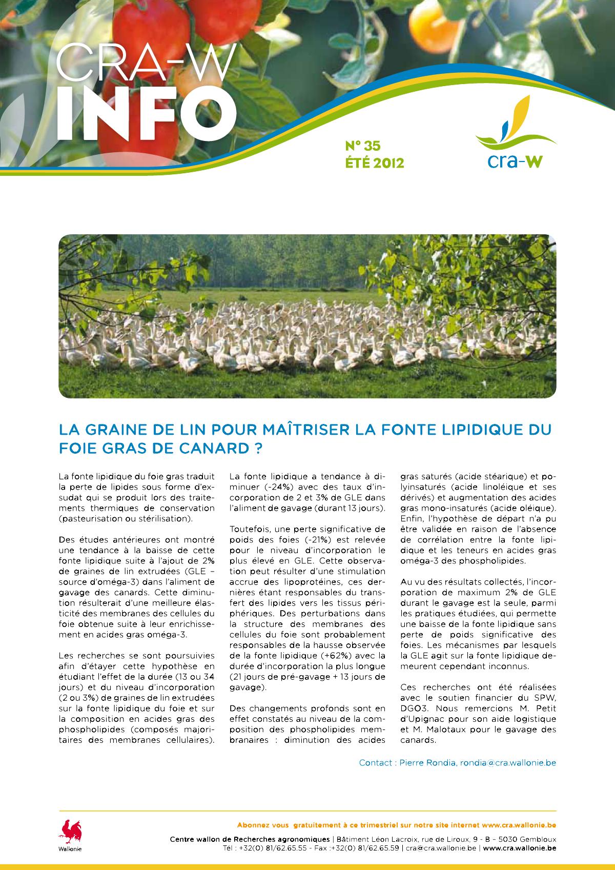 CRAW info n° 35