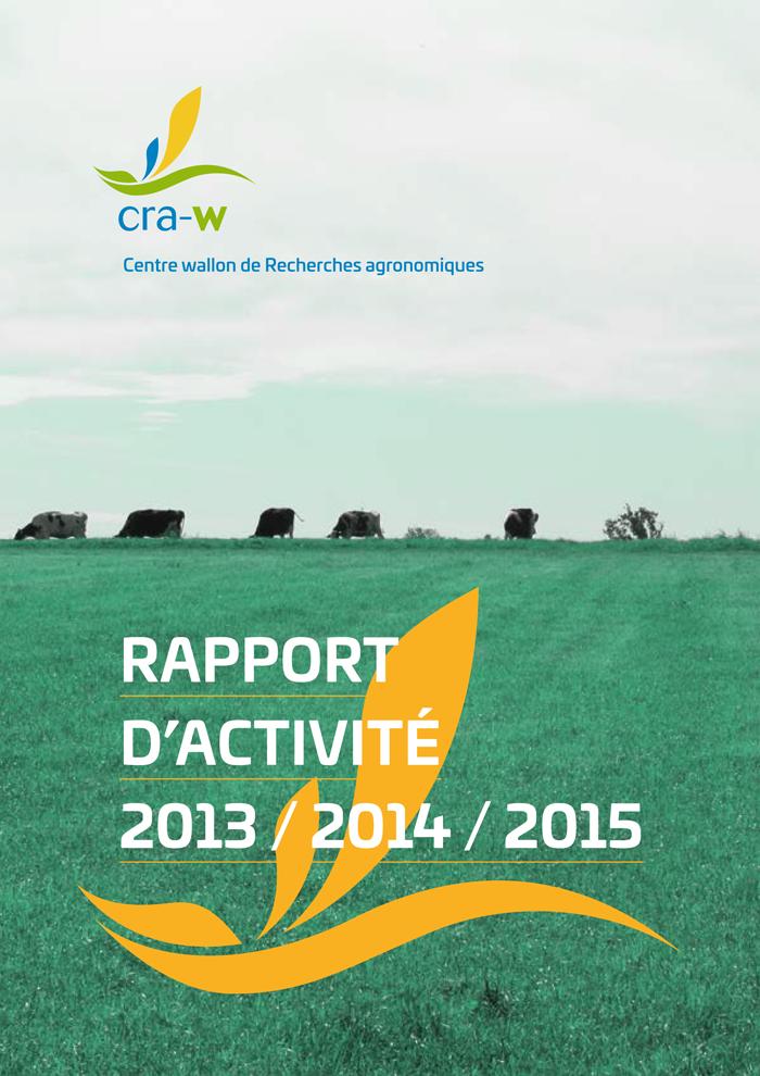Rapport d'activité 2013-2014-2015
