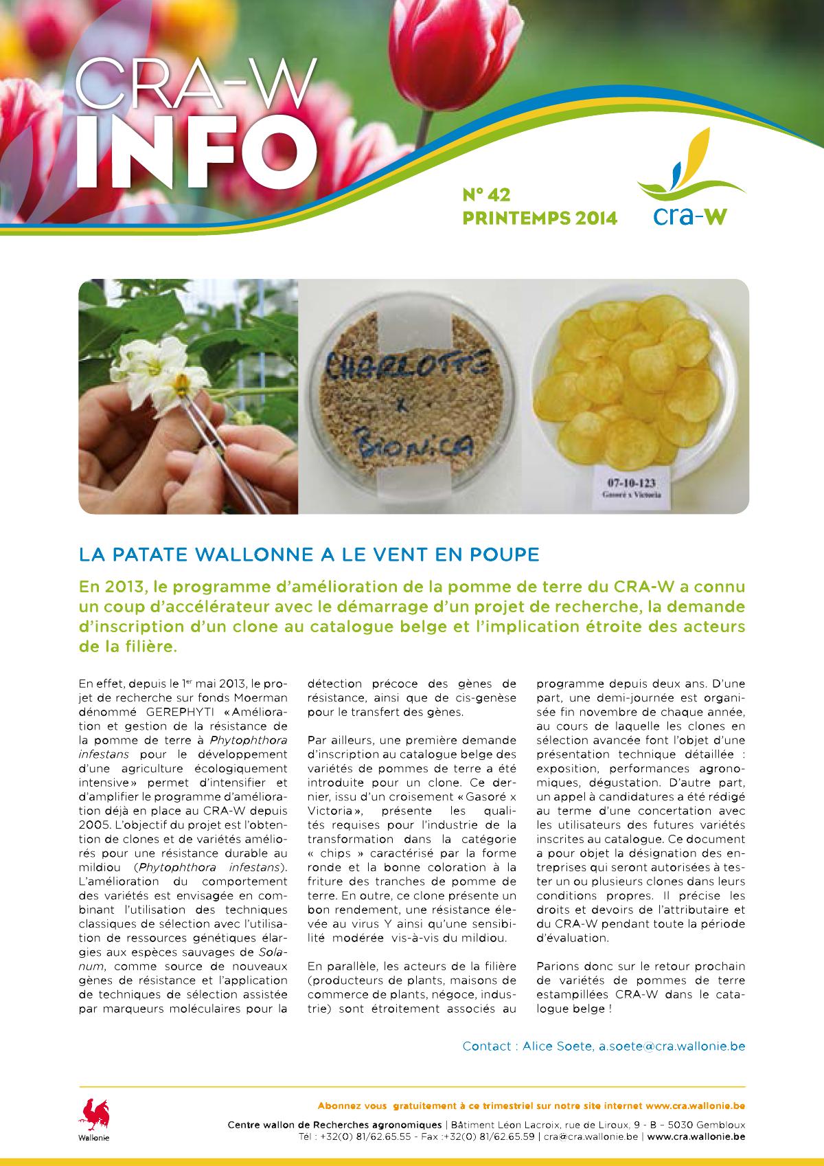 CRAW info n° 42