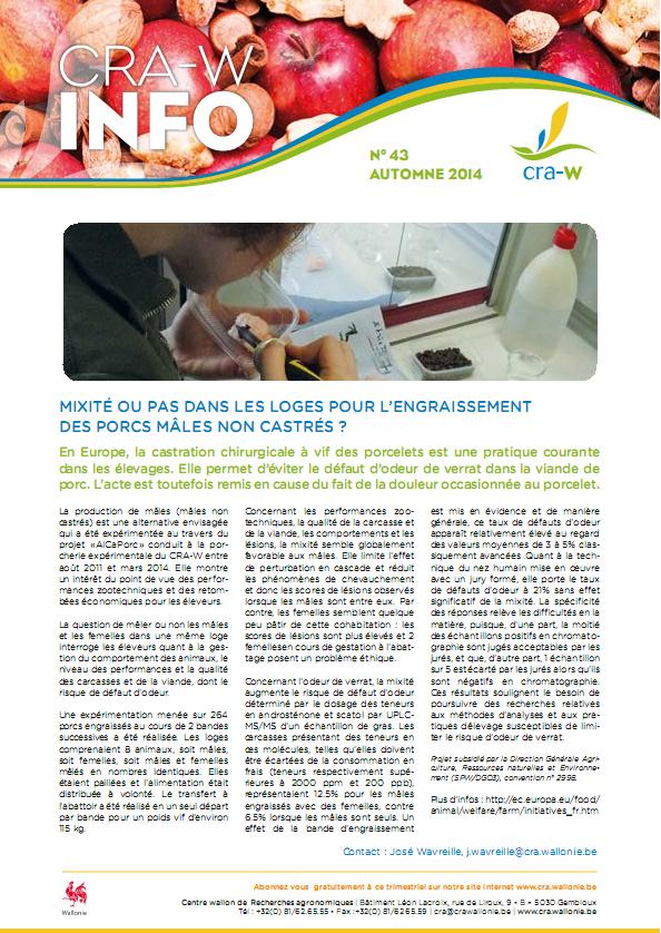 CRAW info n° 43