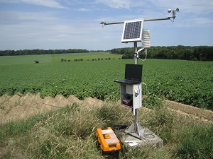 The Pameseb network: automatic agricultural weather stations for integrated pest management in Wallonia