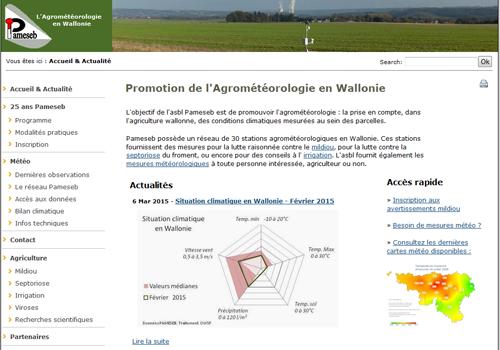 Agrométéo PAMESEB