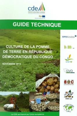 Un guide technique sur la production de la pomme de terre en République démocratique du Congo