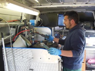 La garantie de la qualité de pulvérisation par le CRA-W