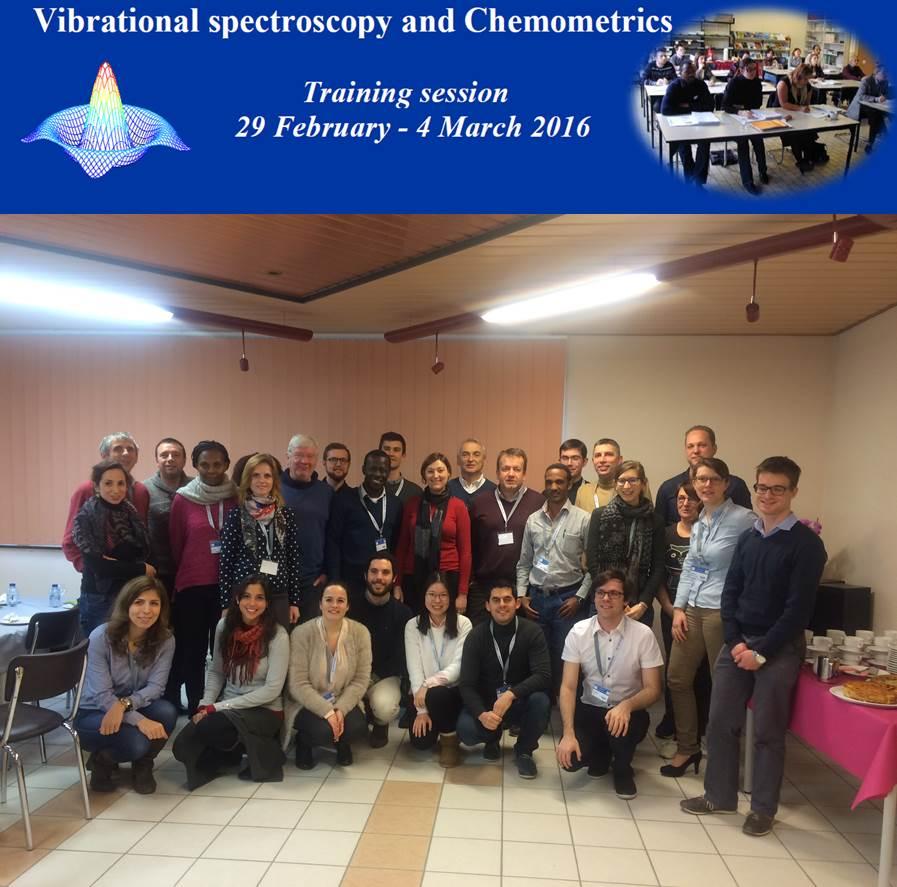 La formation annuelle de spectroscopie vibrationnelle et Chimiométrie: un nouveau succès du CRA-W!