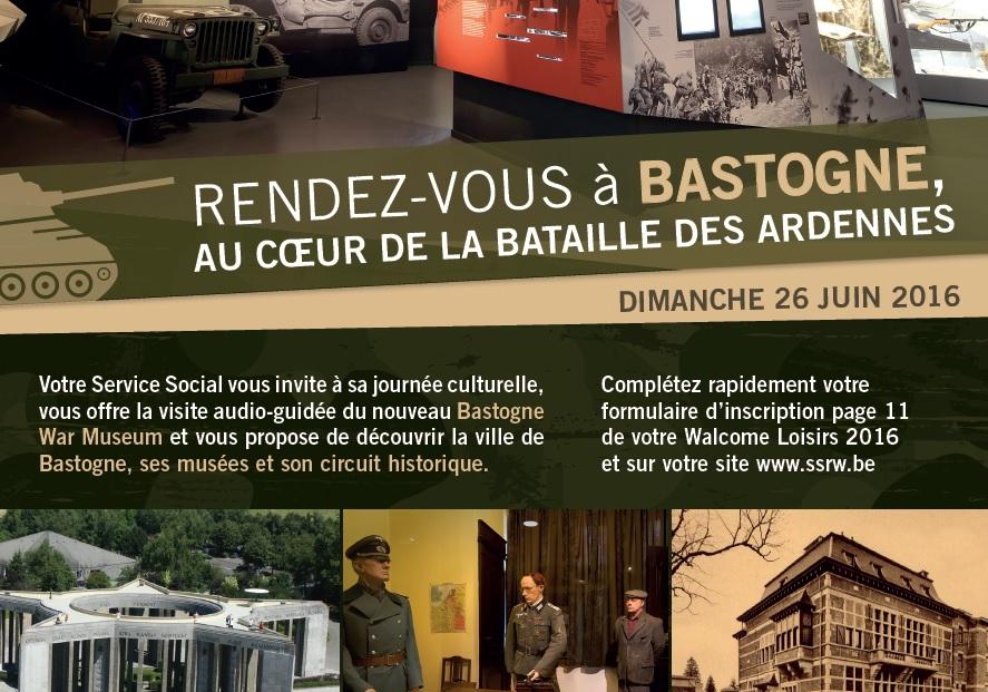 Journée à bastogne