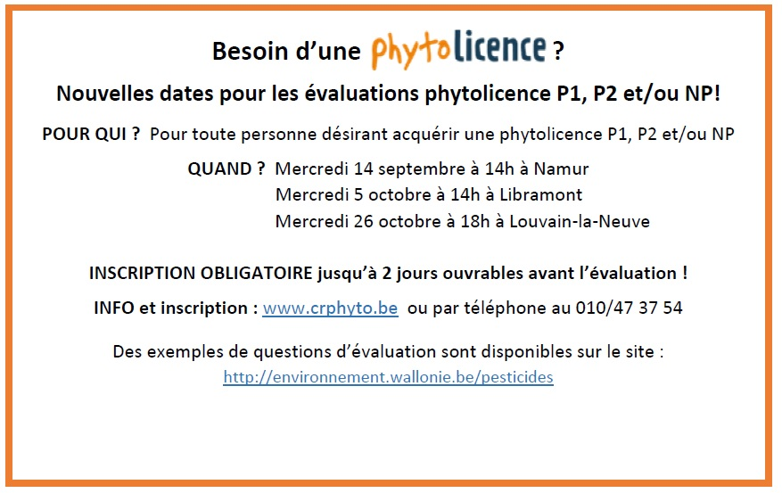 Besoin d'une phytolicence ?