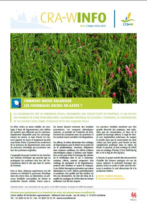 CRA-W info n°51
