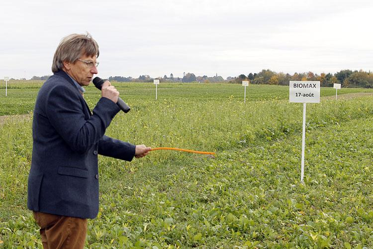 Agronomie des couverts végétaux : Retours d'expériences et Visite des parcelles d'essais dans le contexte des grandes cultures biologiques