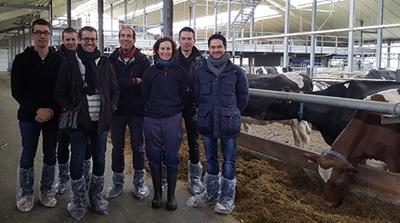 Appel  aux éleveurs laitiers des provinces du Hainaut et de Namur