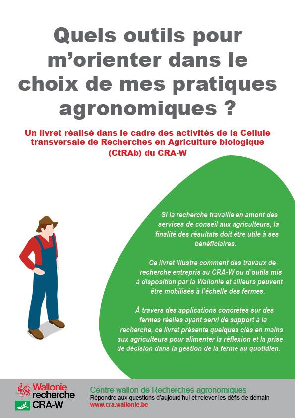 Quels outils pour m'orienter dans le choix de mes pratiques agronomiques ?