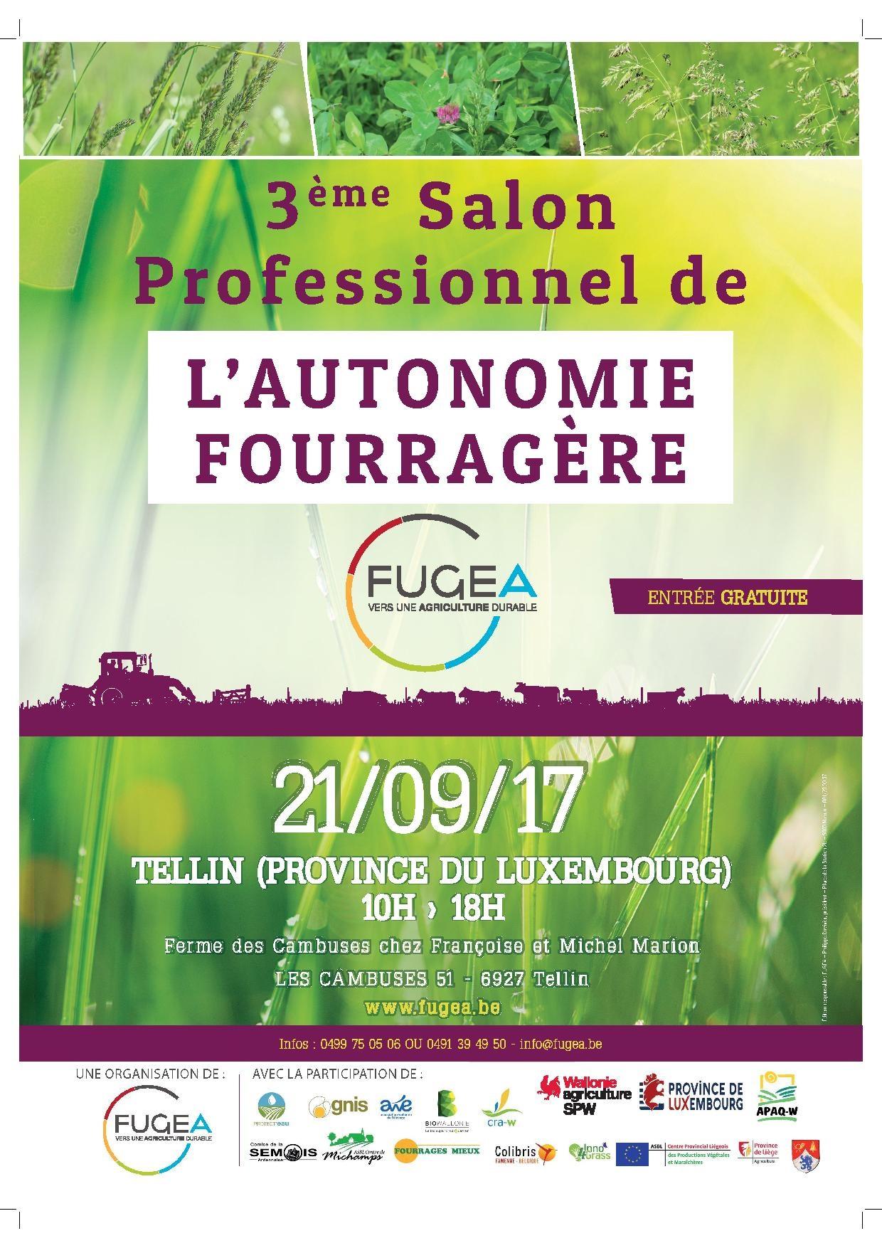 Salon Professionnel de l'Autonomie Fourragère 2017