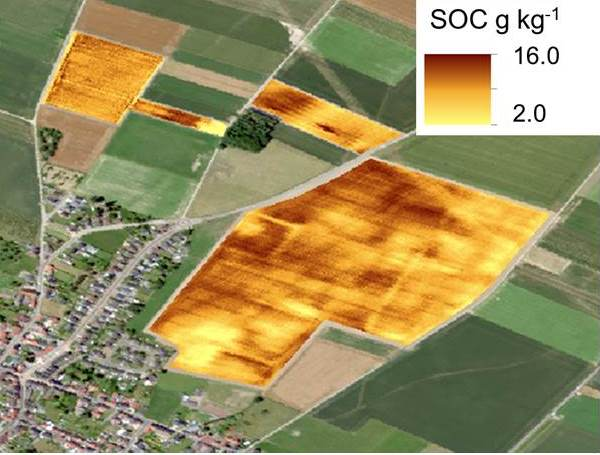 UAV borne spectrometers for high resolution soil and crop monitoring