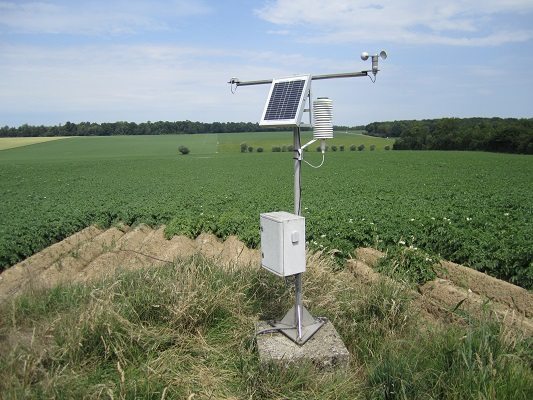 CRA-W is equipping Wallonia with 16,000 virtual weather stations