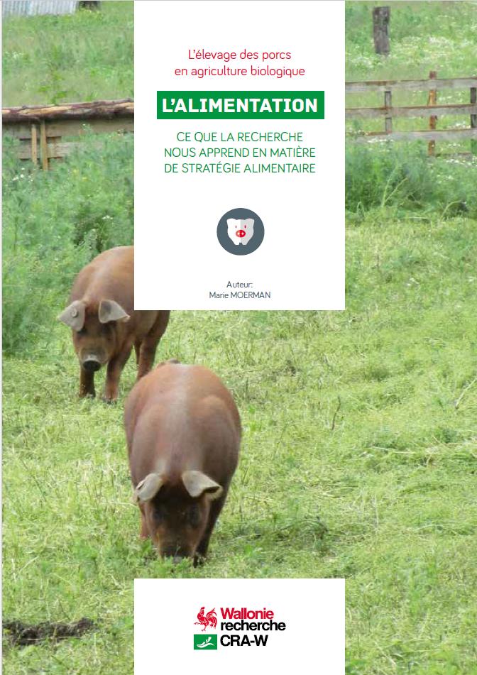 L'élevage des porcs en agriculture biologique - L'ALIMENTATION