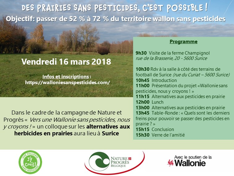 Des prairies sans pesticides, c'est possible !