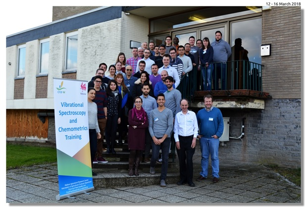 11ème formation annuelle en spectroscopie vibrationnelle et en chimiométrie organisée par le CRA-W: un succès une fois de plus!