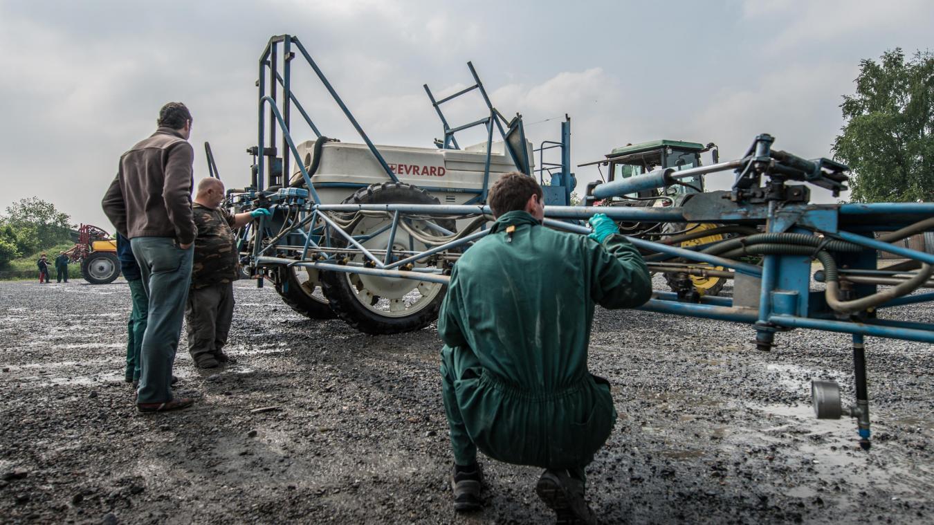 Contrôle technique pour les pulvérisateurs agricoles