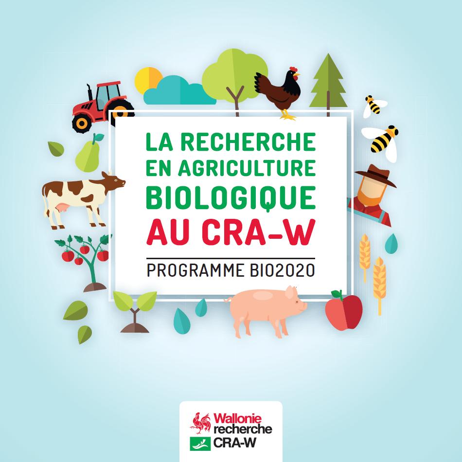 La Recherche en Agriculture Biologique au CRA-W - Programme BIO2020