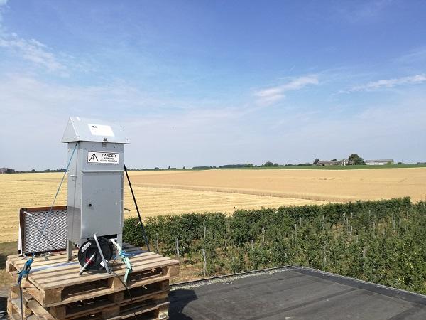 Pesticides dans l'air ambiant en Wallonie : un peu de tout, partout, en faible quantité !
