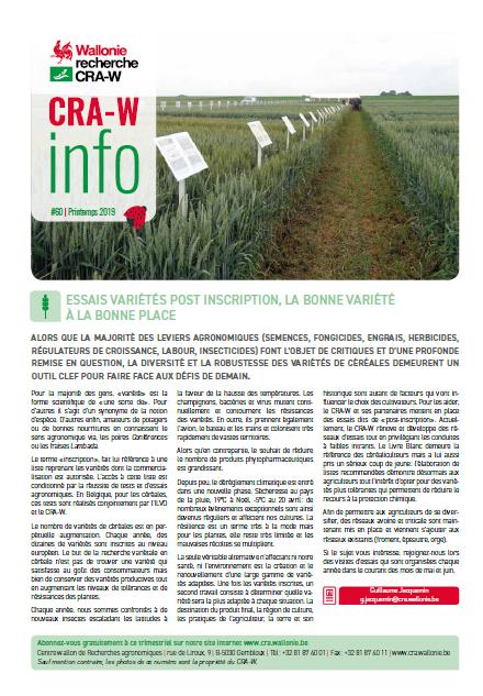 CRA-W info n°60