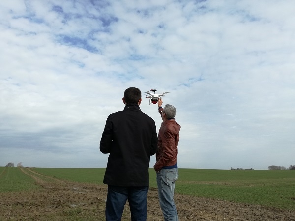 Can UAV's help to improve nitrogen recommendation?
