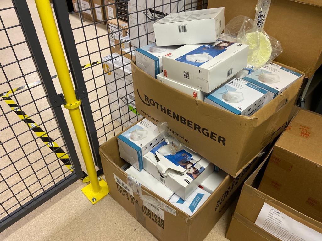 Coronavirus : 759 masques récoltés par le CRA-W pour les services d'urgence