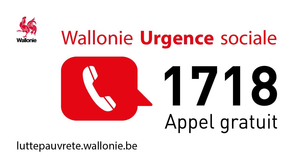 Covid 19 – La Wallonie crée un service d'aides aux urgences sociales