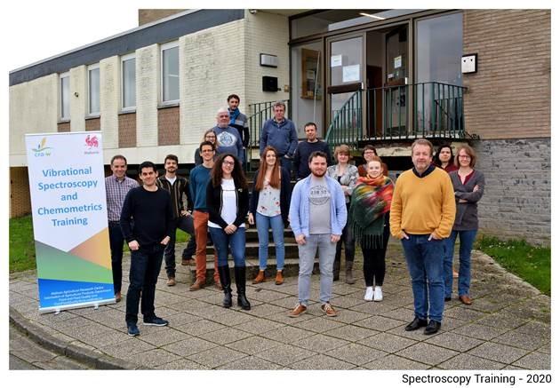 13ème formation annuelle en spectroscopie vibrationnelle et en chimiométrie organisée par le CRA-W: un nouveau succès malgré le COVID-19!