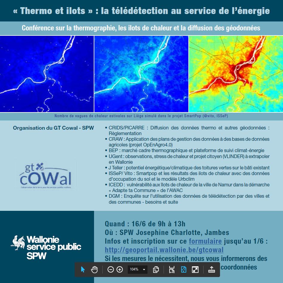 Thermo et ilots : la télédétection au service de l'énergie