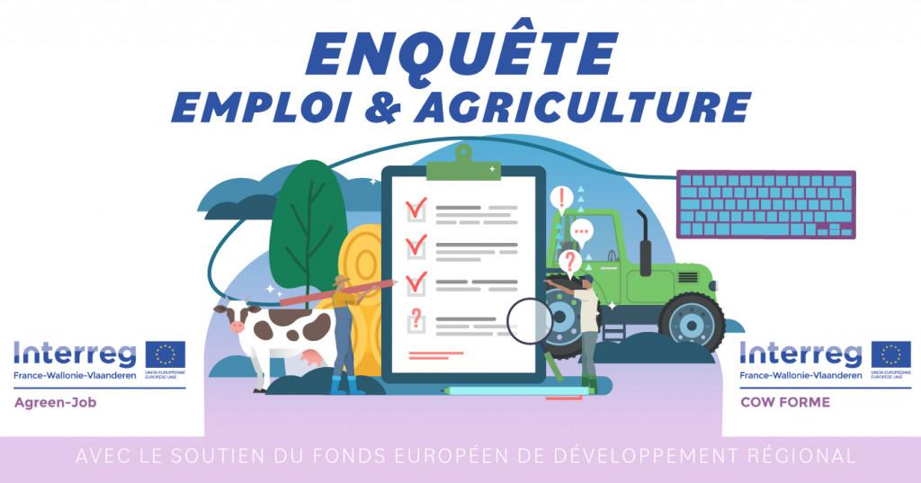 Enquête TRAVAIL et MAIN-D'ŒUVRE en agriculture.